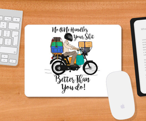 Handle Life Mousepad | Artist : Dishant Bhatia