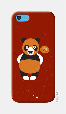 Panda On Red iPhone 5c Cases | Artist : Designerchennai