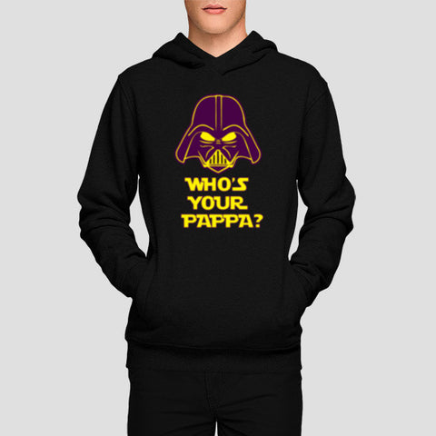 Hoodies, Who's Your Pappa Hoodies | Artist : Random Chinese Friend, - PosterGully - 1