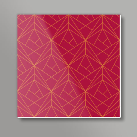 Shapes Square Metal Prints | Artist : Palna Patel
