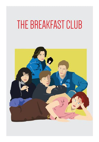 Wall Art, The breakfast club Wall Art | Artist : Soumyajyoti Dey, - PosterGully