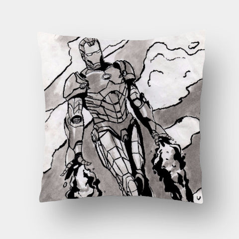 Cushion Covers, Sketch Man Cushion cover | Asees Kaur, - PosterGully