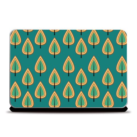 Leaf design pattern Laptop Skins | Artist : Designerchennai