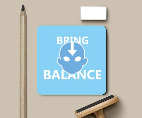 Coasters, Avatar AANG Coaster Coasters | Artist : Vedant Sharma, - PosterGully
