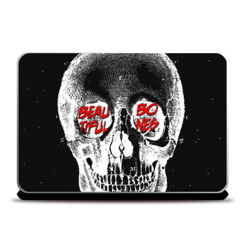 BEAUTIFUL BONES Laptop Skins | Artist : PUJA KUMAR
