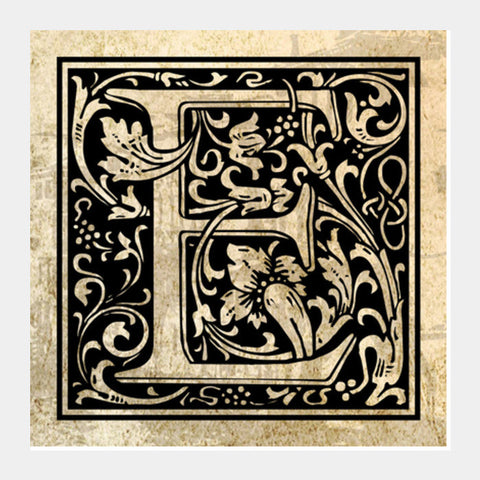 Ornate E Square Art Prints PosterGully Specials