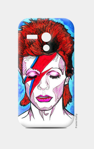 David Bowie - From Starman to Stardust Moto G Cases | Artist : Pop Goes The Easel