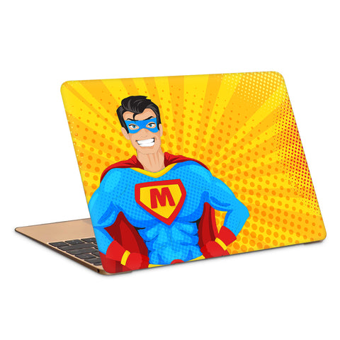 Superhero Popart Artwork Laptop Skin