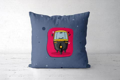 Autorickshaw - Cushion Covers Cushion Covers | Artist : Pankaj Utekar