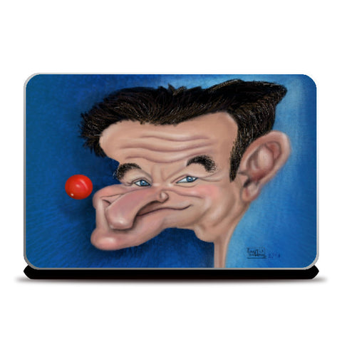 Laptop Skins, Caricature Robin William Laptop Skin | Kaleidostrokes - Leena Swamy, - PosterGully