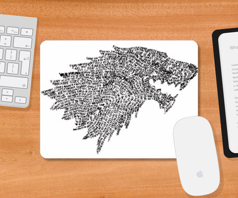Mousepad, Ghost Mousepad | Artist: Vaidehi Panchal, - PosterGully