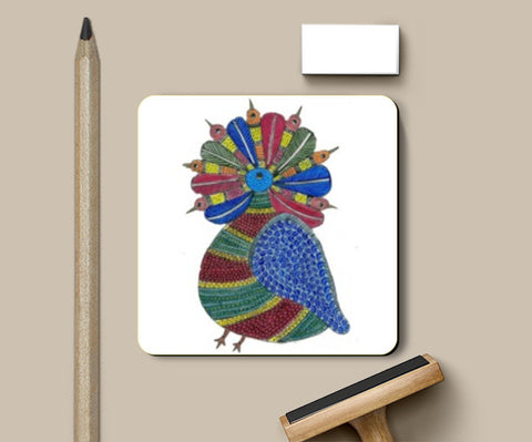 Coasters, Tribal Art coaster I Gayatri Iyer, - PosterGully