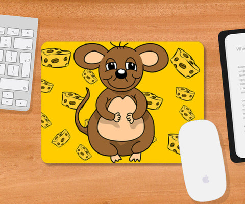 Mousepad, Mouse cheese Mousepad | Artist : Anuj Goyal, - PosterGully