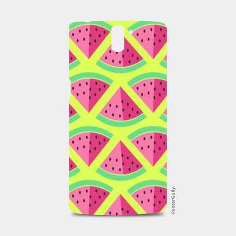 New watermelon One Plus One Cases | Artist : Nishit Shah