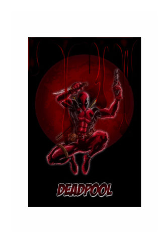 Wall Art, Deadpool Artwork, - PosterGully