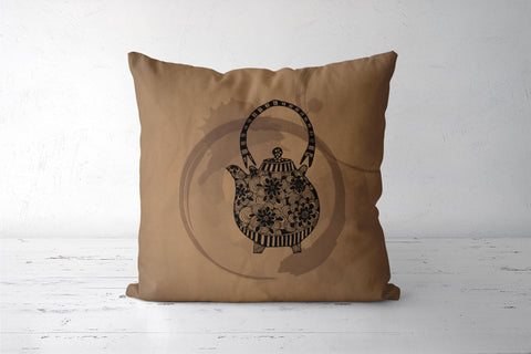 Teapot Cushion Cover | Svayamkriri