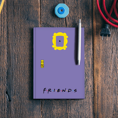 FRIENDS!!! Notebook | Artist : Naman Kapoor