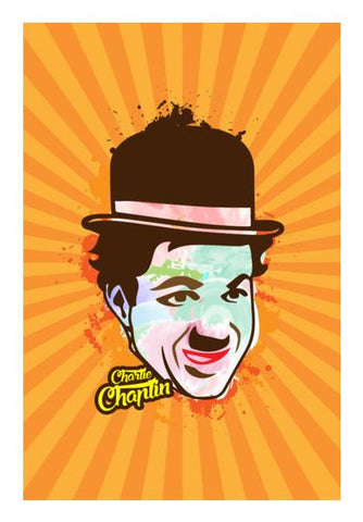 PosterGully Specials, Charlie Chaplin Wall Art | Artist : Designerchennai, - PosterGully