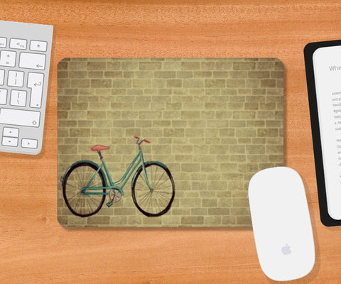 Bicycle Mousepad | Artist : Anushree Jaiswal