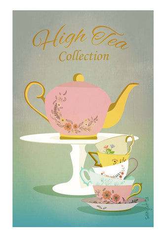 Wall Art, High Tea Collection Wall Art | Artist : Sanyukta bhatnagar, - PosterGully