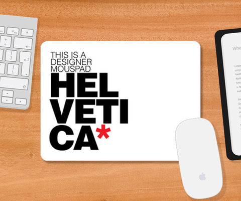 Mousepad, Helvetica love Mousepad | Artist : Keepcalm Prints, - PosterGully