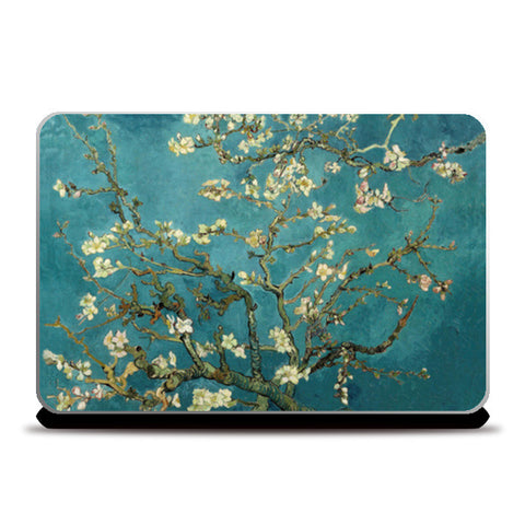 Blossoming Almond Tree by Vincent Van Gogh  Laptop Skins | Artist : GABAMBO