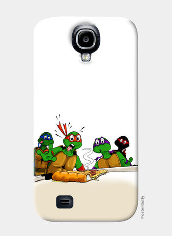 Samsung S4 Cases, Ninja Turtles - Pizzaaa!! Samsung S4 Cases | Artist : Paul D' Rozario, - PosterGully