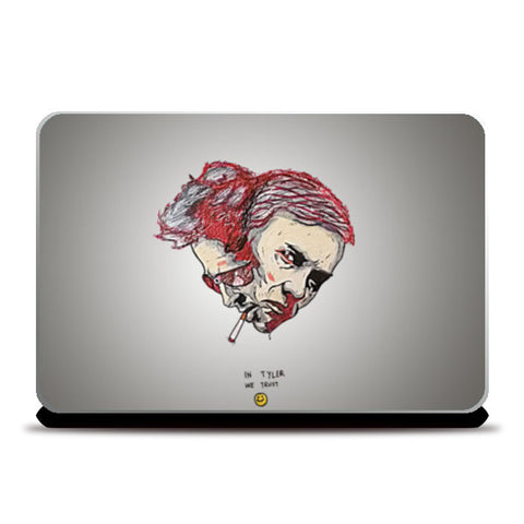 In Tyler We Trust| Fight Club Laptop Skins | Artist : Swanand Joshi