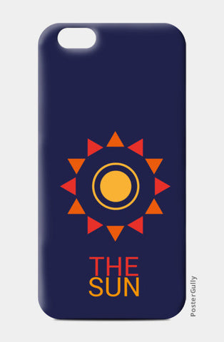 The sun iPhone 6/6S Cases | Artist : Akash Gutha