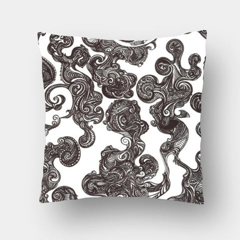Cushion Covers, Swirly Doodle Cushion Cover Cushion Covers | Artist : Aniruddha De, - PosterGully