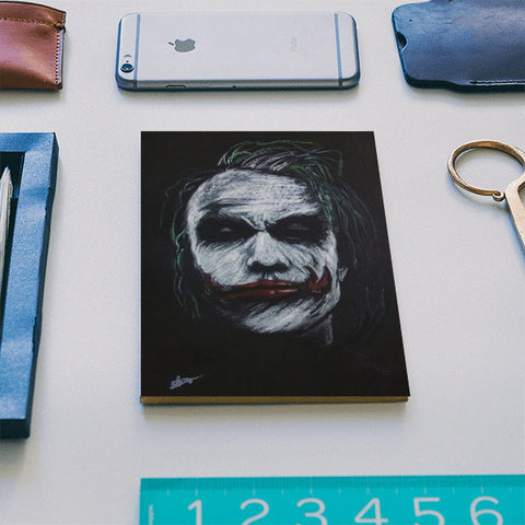 The Joker Notebook Notebook | Artist : Vivek Aind