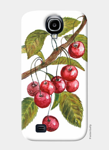 Samsung S4 Cases, Cherries Samsung S4 Case I Artist: Seema Hooda, - PosterGully