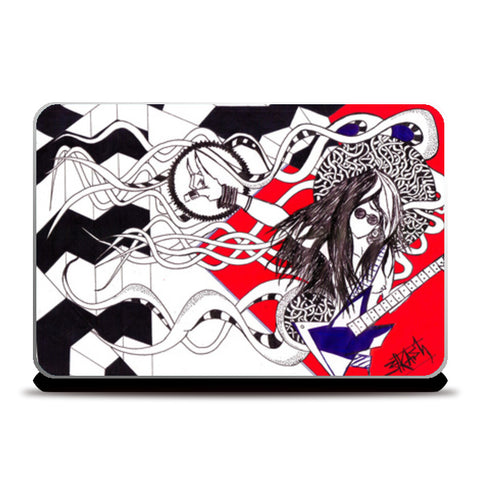 keepROCKing Laptop Skins | Artist : akash biyani