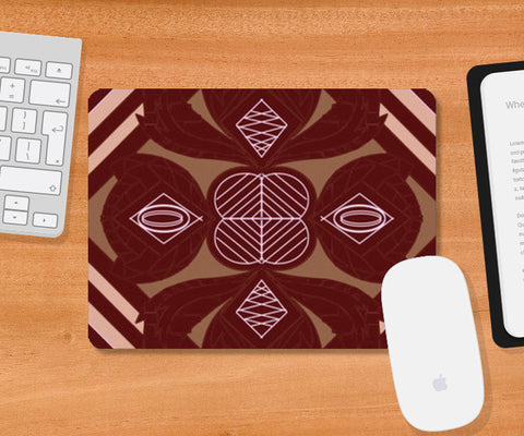 Mousepad, Brown Leaves Mousepad | Artist : Pratyasha Nithin, - PosterGully