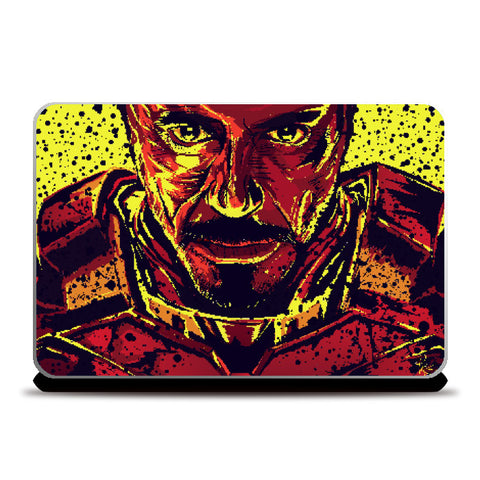 Laptop Skins, Iron Man Laptop Skin | Pratik Kamat, - PosterGully