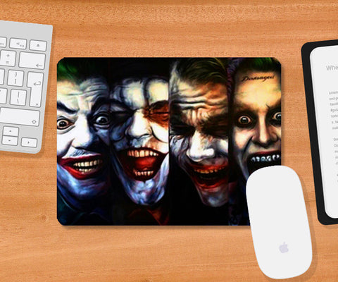 joker batman gotham dark knight  Mousepad | Artist : BY Darakhsha Dandekar, Karan Mehta and Udit Shah