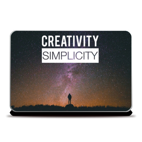 Laptop Skins, Creativity and Simplicity Laptop Skins | Artist : Rahul Bagdai, - PosterGully