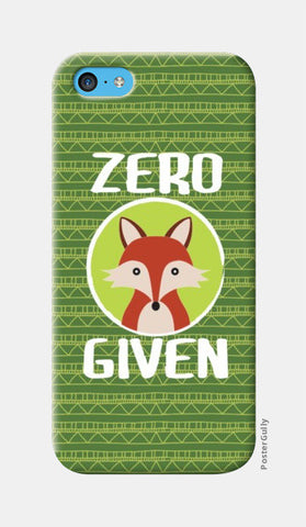 iPhone 5c Cases, Zero Fox Given iPhone 5c Cases | Artist : Random Chinese Friend, - PosterGully