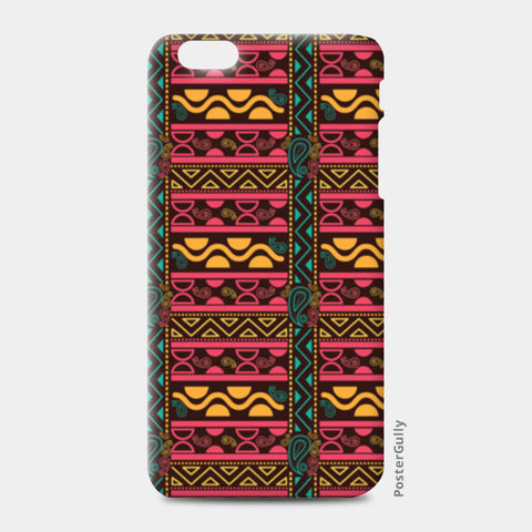 Abstract geometric pattern african style iPhone 6 Plus/6S Plus Cases | Artist : Designerchennai