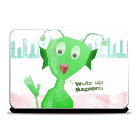 Laptop Skins, Martian  Laptop Skin  Wutz Up Sapiens | Artist: Sanket R, - PosterGully