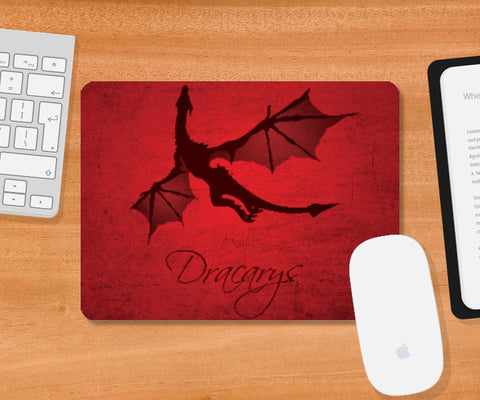 Mousepad, Dracarys Game of Thrones | Artist: Kshitija Tagde, - PosterGully