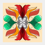 Square Art Prints, Flower Square Art Prints | Pratyasha Nithin, - PosterGully