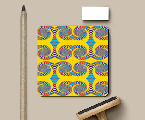 Coasters, Color Curves Coasters | Artist : CK GANDHI, - PosterGully