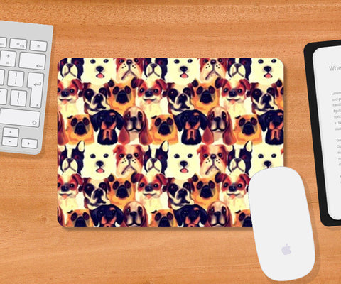 Mousepad, DOGS Mousepad | Artist : abhijeet sinha, - PosterGully