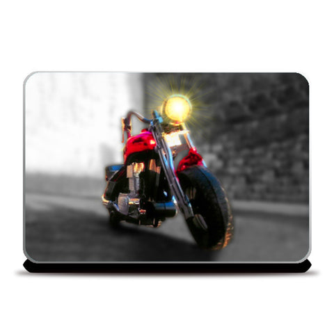 Laptop Skins, Boy Toy Bikes Laptop Skins | Artist : Pranit Jaiswal, - PosterGully