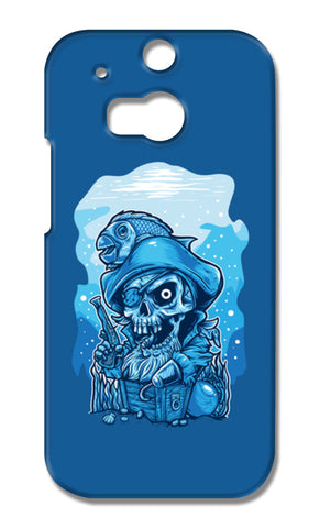 Cartoon Pirates HTC One M8 Cases | Artist : Inderpreet Singh