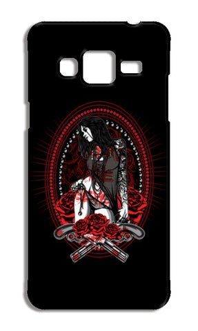 Woman With Tattooed Hand Samsung Galaxy J3 2016 Cases | Artist : Inderpreet Singh
