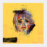 Square Art Prints, Rita Ora Painting Square Art Prints | Artist : Vikram Ghattora, - PosterGully