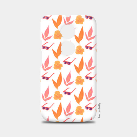Tropical Vibes Moto X2 Cases | Artist : The Un.Titled