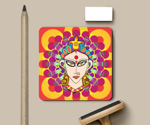 The Divine Goddess Coasters | Artist : Design_Dazzlers